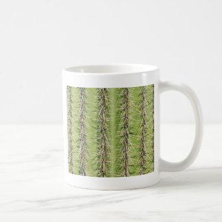 Impresión de las agujas del cactus del Saguaro Taza Básica Blanca