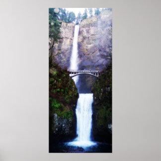 Impresión de las caídas de Multnomah Impresiones