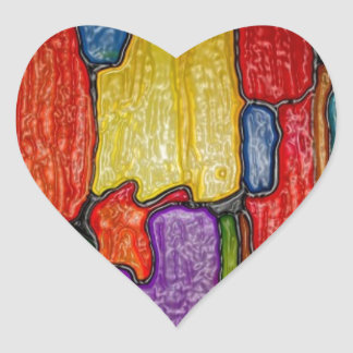 Impresión de las camisetas de las tarjetas de los calcomania de corazon