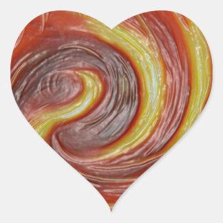 Impresión de las camisetas de las tarjetas de los calcomanías corazones personalizadas