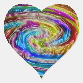 Impresión de las camisetas de las tarjetas de los pegatinas corazon