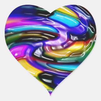 Impresión de las camisetas de las tarjetas de los colcomanias corazon personalizadas