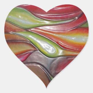 Impresión de las camisetas de las tarjetas de los colcomanias corazon