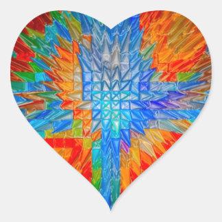 Impresión de las camisetas de las tarjetas de los pegatinas corazon personalizadas