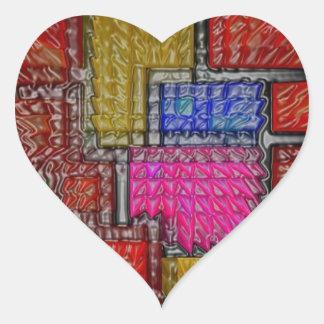 Impresión de las camisetas de las tarjetas de los colcomanias de corazon personalizadas