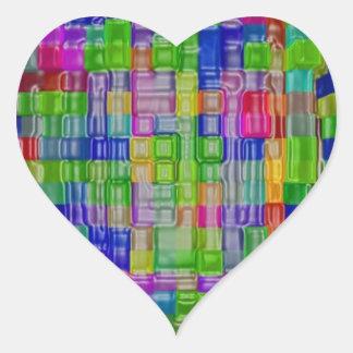 Impresión de las camisetas de las tarjetas de los calcomania de corazon personalizadas