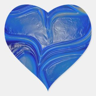 Impresión de las camisetas de las tarjetas de los pegatinas de corazon