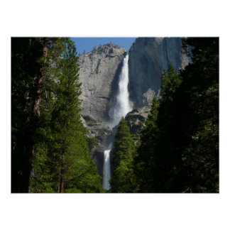 Impresión de las cataratas de Yosemite II Impresiones