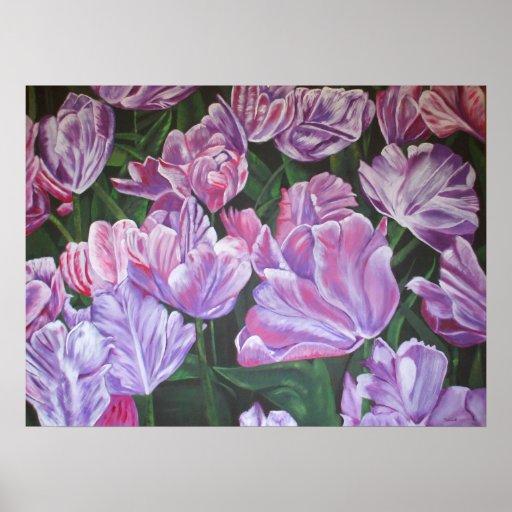 """Impresión de las """"floraciones preciosas"""" (SSS) Poster"""
