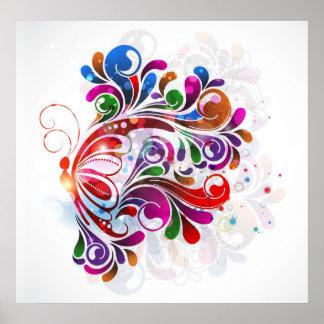 Impresión de las mariposas del amor impresiones