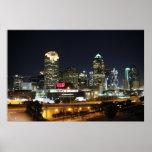 Impresión de las noches de Dallas Posters