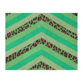 Impresión de las rayas de Chevron Zizag del rosa Papel De Corcho