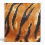 Impresión de las rayas del tigre del safari
