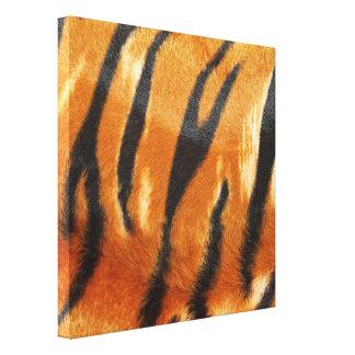 Impresión de las rayas del tigre del safari impresión en lona