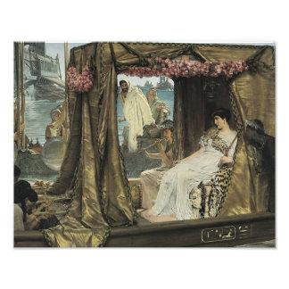 """Impresión de Lawrence Alma-Tadema """"Anthony y Fotografía"""