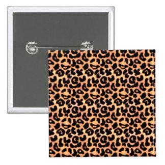 Impresión de Leapord, estampado de animales Pin