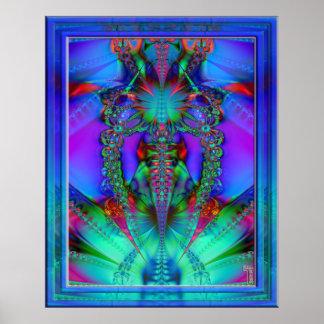 Impresión de levantamiento del arte de la variació impresiones