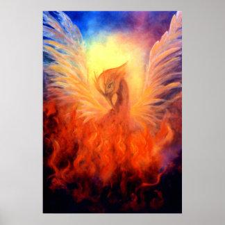 Impresión de levantamiento del arte de Phoenix en  Impresiones