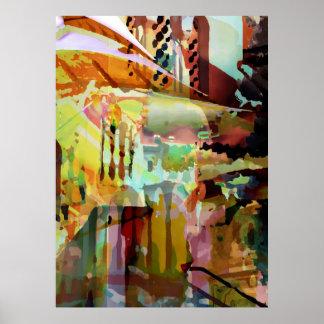 Impresión de los arcos de Marrakesh Posters