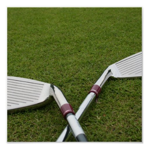 Impresión de los clubs de golf impresiones
