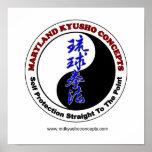 Impresión de los conceptos de Maryland Kyusho Poster