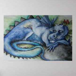 Impresión de los sueños del dragón posters