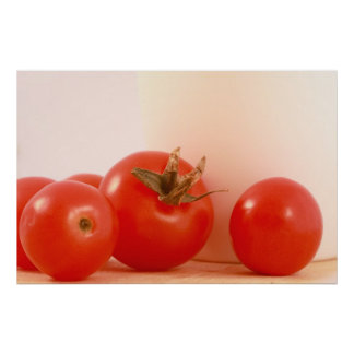 Impresión de los tomates posters