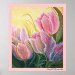 impresión de los tulipanes impresiones