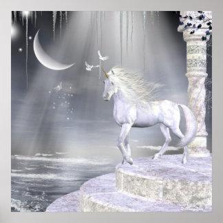 Impresión de los unicornios de Fae de los ángeles