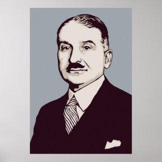 Impresión de Ludwig von Mises Póster