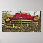 Impresión de lujo roja de BargasArtworks Plymouth Posters