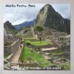 Impresión de Machu Picchu Poster