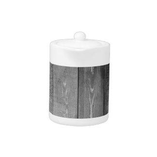 Impresión de madera blanco y negro