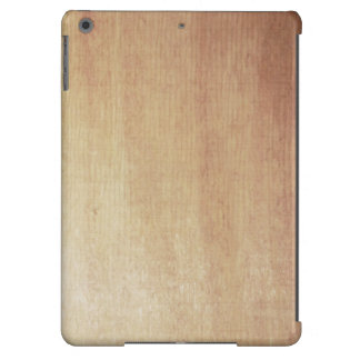Impresión de madera de abedul funda para iPad air