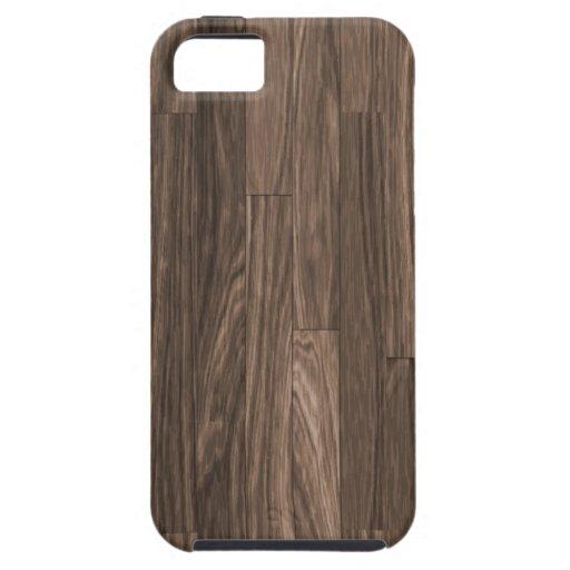 Impresión de madera del grano, modelo de madera de iPhone 5 Case-Mate carcasas