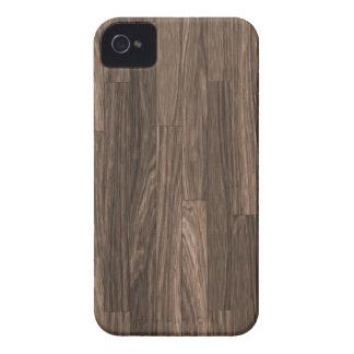 Impresión de madera del grano, modelo de madera de iPhone 4 Case-Mate cobertura