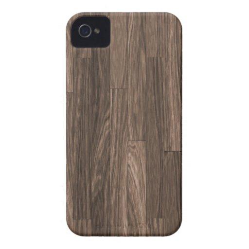 Impresión de madera del grano, modelo de madera iPhone 4 funda