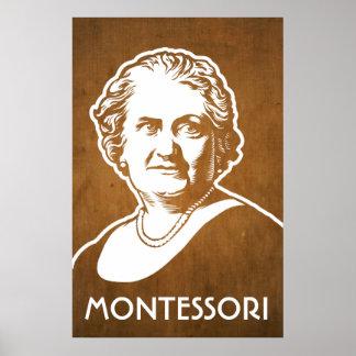 Impresión de Maria Montessori Póster