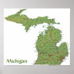 Impresión de Michigan Posters