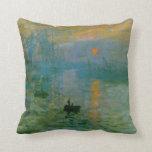Impresión de Monet, almohada de MoJo de la bella a
