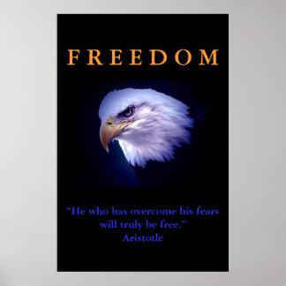 Impresión de motivación del poster de Eagle del