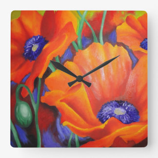 Impresión de naranja reloj