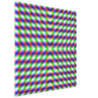 Impresión de neón de la lona de X Impresion De Lienzo