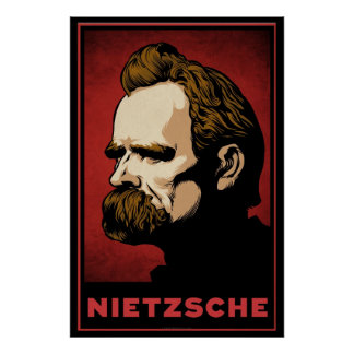 Impresión de Nietzsche