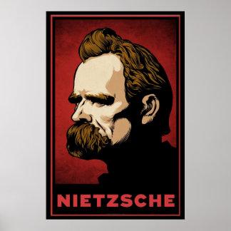 Impresión de Nietzsche Poster