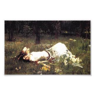 Impresión de Ofelia del Waterhouse Impresiones Fotograficas