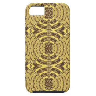 Impresión de oro de la JOYA de la chispa iPhone 5 Case-Mate Carcasas