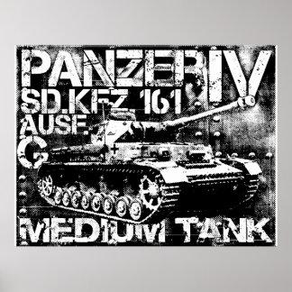 Impresión de Panzer IV