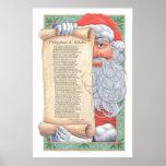 Impresión de Papá Noel del navidad Impresiones