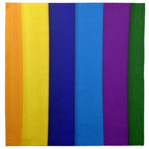 Impresión de papel colorida servilletas imprimidas